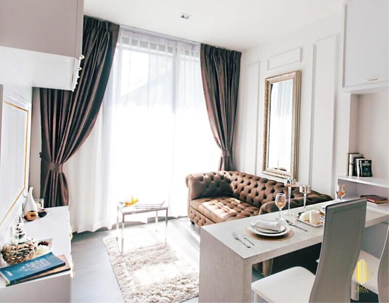 SALA ESTATE Agency's (FOR RENT)THE EDGE SUKHUMVIT 23 – BTS ASOKE, 35 SQM 1 BEDROOM 1 BATHROOM, FULLY FURNISHED, CITY VIEW 1