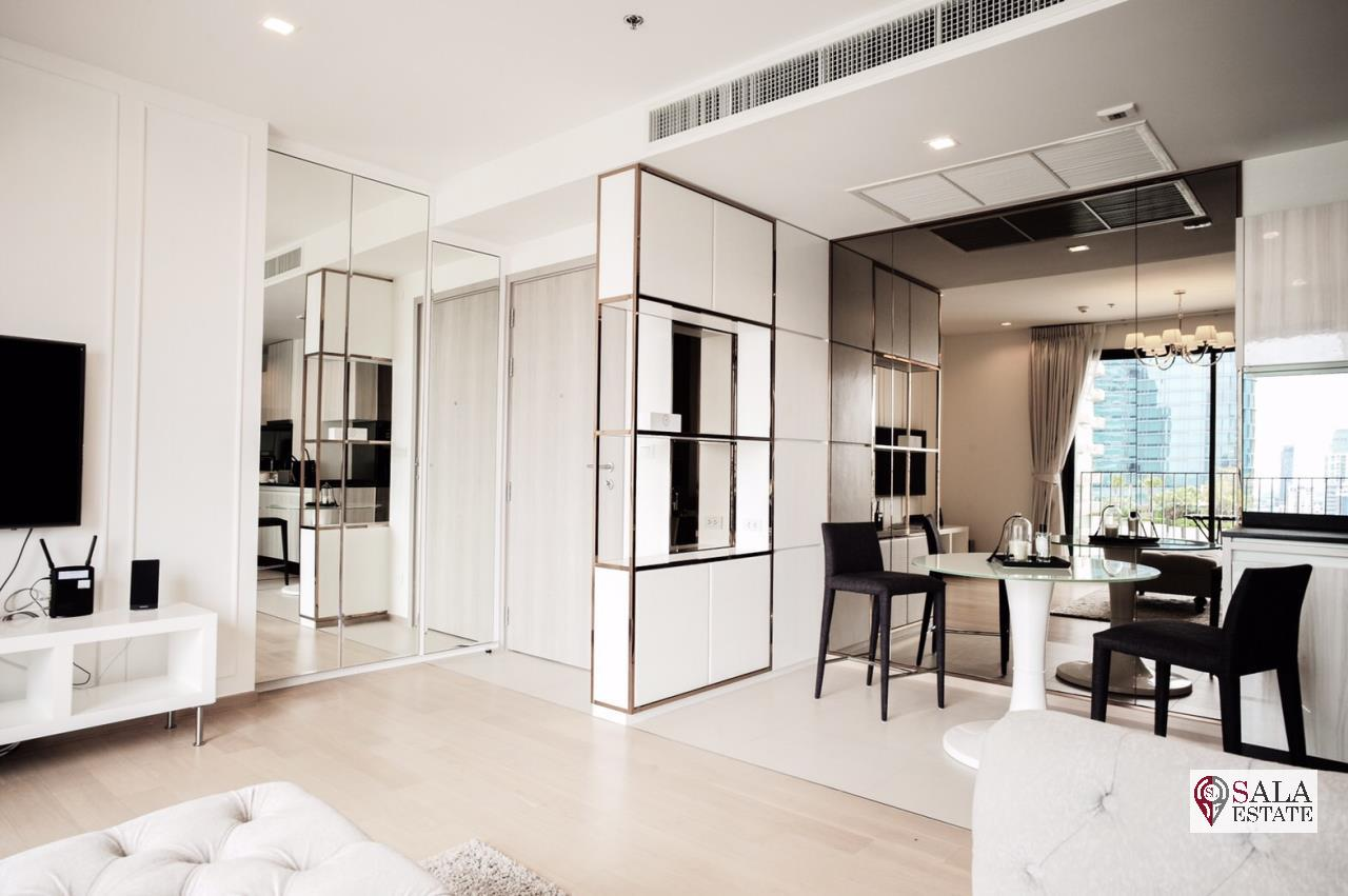 SALA ESTATE Agency's (FOR RENT)HQ BY SANSIRI CONDO – BTS THONGLOR, 2BEDROOMS 2BATHROOMS, FULLY FURNISHED 1