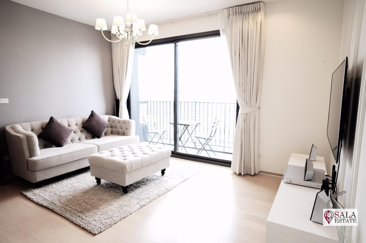 SALA ESTATE Agency's (FOR RENT)HQ BY SANSIRI CONDO – BTS THONGLOR, 2BEDROOMS 2BATHROOMS, FULLY FURNISHED 2