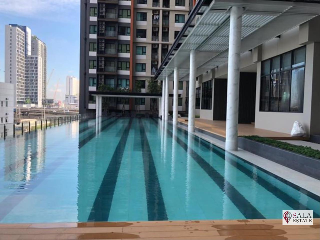 SALA ESTATE Agency's LIFE ASOKE – MRT PHETCHABURI, 1 BEDROOM 1 BATHROOM, FULLY FURNISHED, CITY VIEW 8