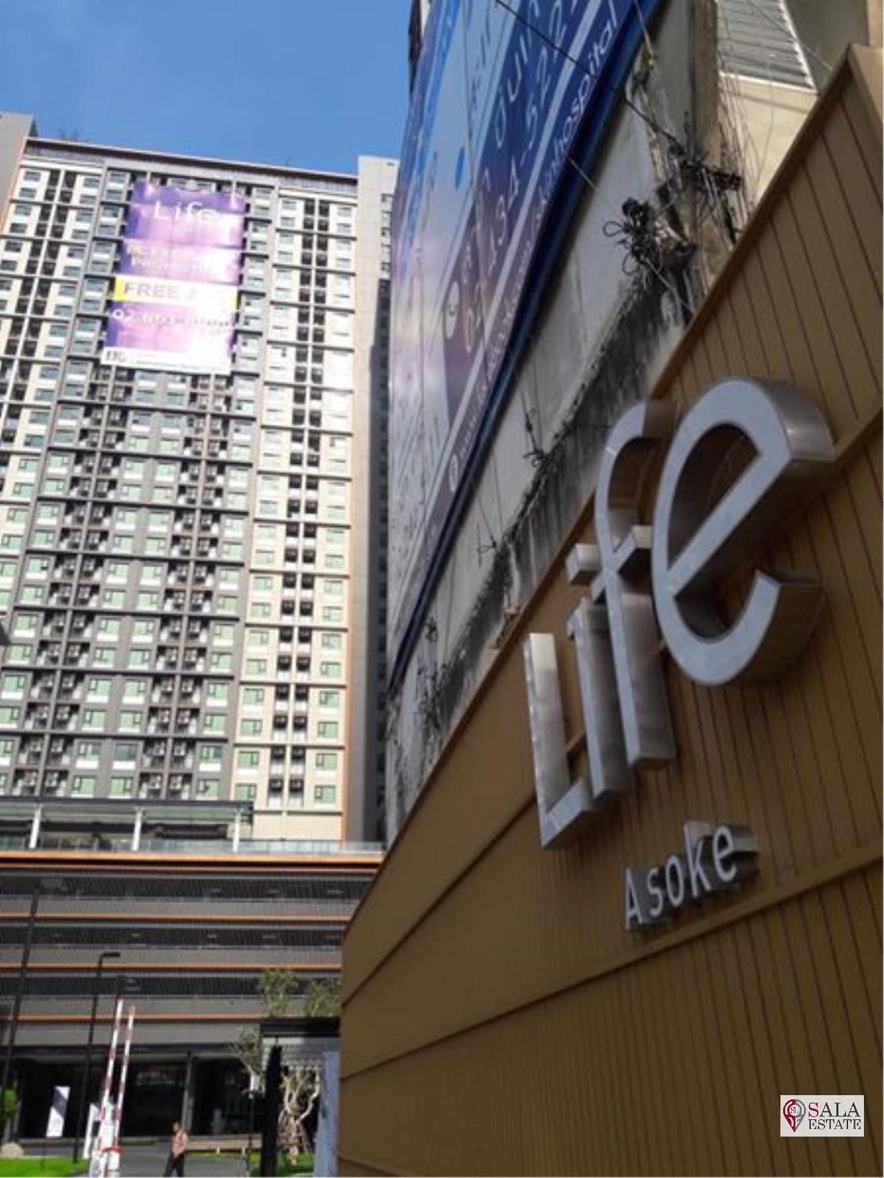 SALA ESTATE Agency's LIFE ASOKE – MRT PHETCHABURI, 1 BEDROOM 1 BATHROOM, FULLY FURNISHED, CITY VIEW 5