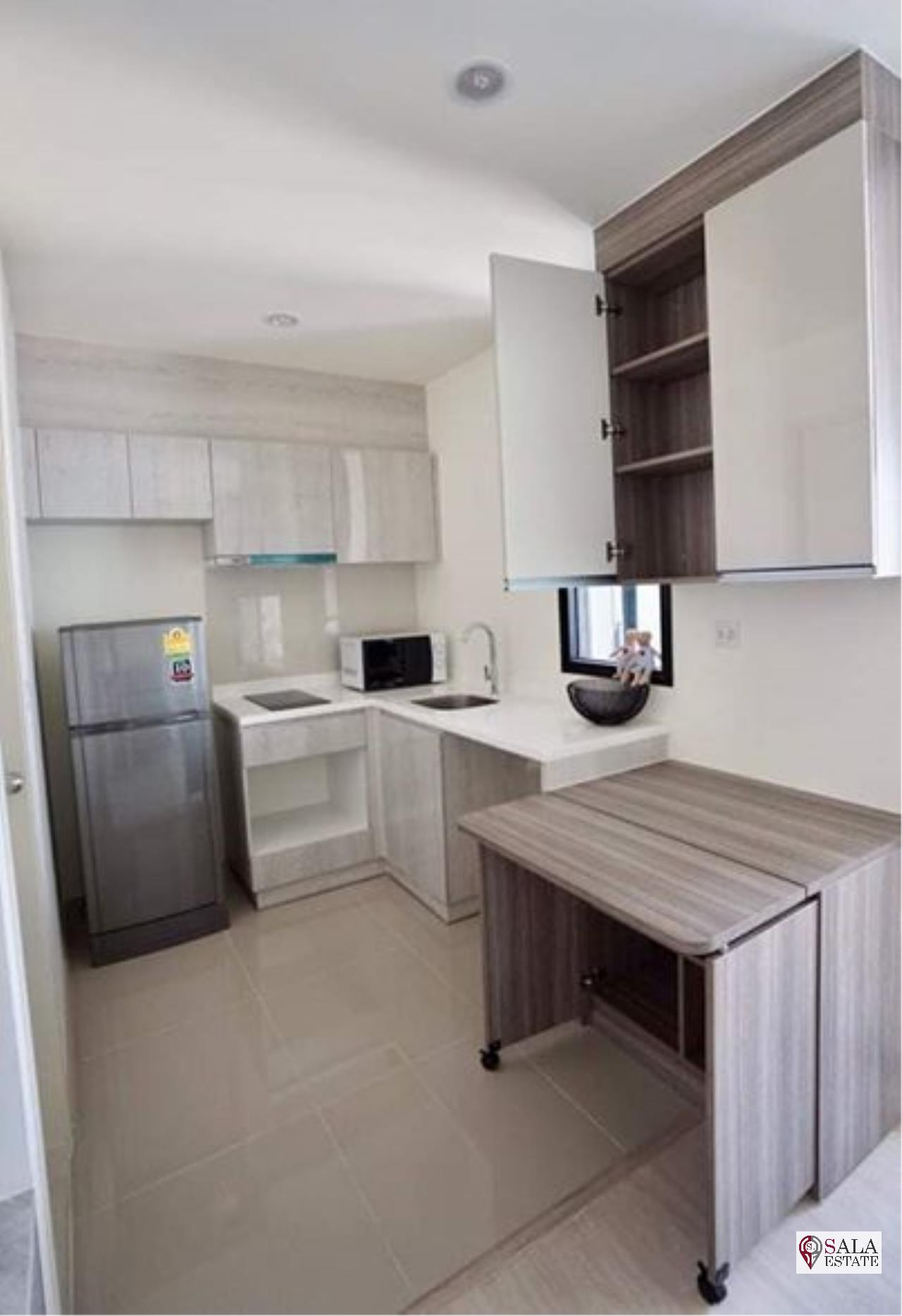 SALA ESTATE Agency's ( FOR RENT ) LIFE ASOKE – MRT PHETCHABURI, 1 BEDROOMS 1 BATHROOMS, FULLY FURNISHED, CITY VIEW. 6