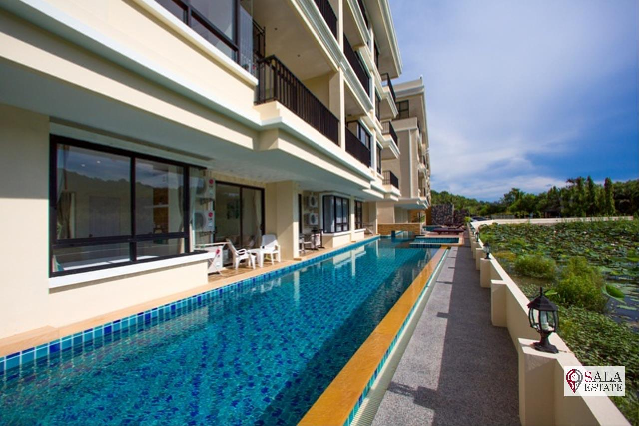 SALA ESTATE Agency's ( FOR SALE ) THE LAGO NAIHARN PHUKET – NAIHARN BRACH , 1BEDROOM 1BATHROOM, FULLY FURNISHED 12