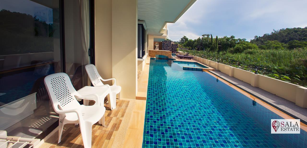 SALA ESTATE Agency's (FOR SALE) THE LAGO NAIHARN PHUKET, 2 BEDROOMS, 2 BATHROOMS, FULLY FURNISHED 5