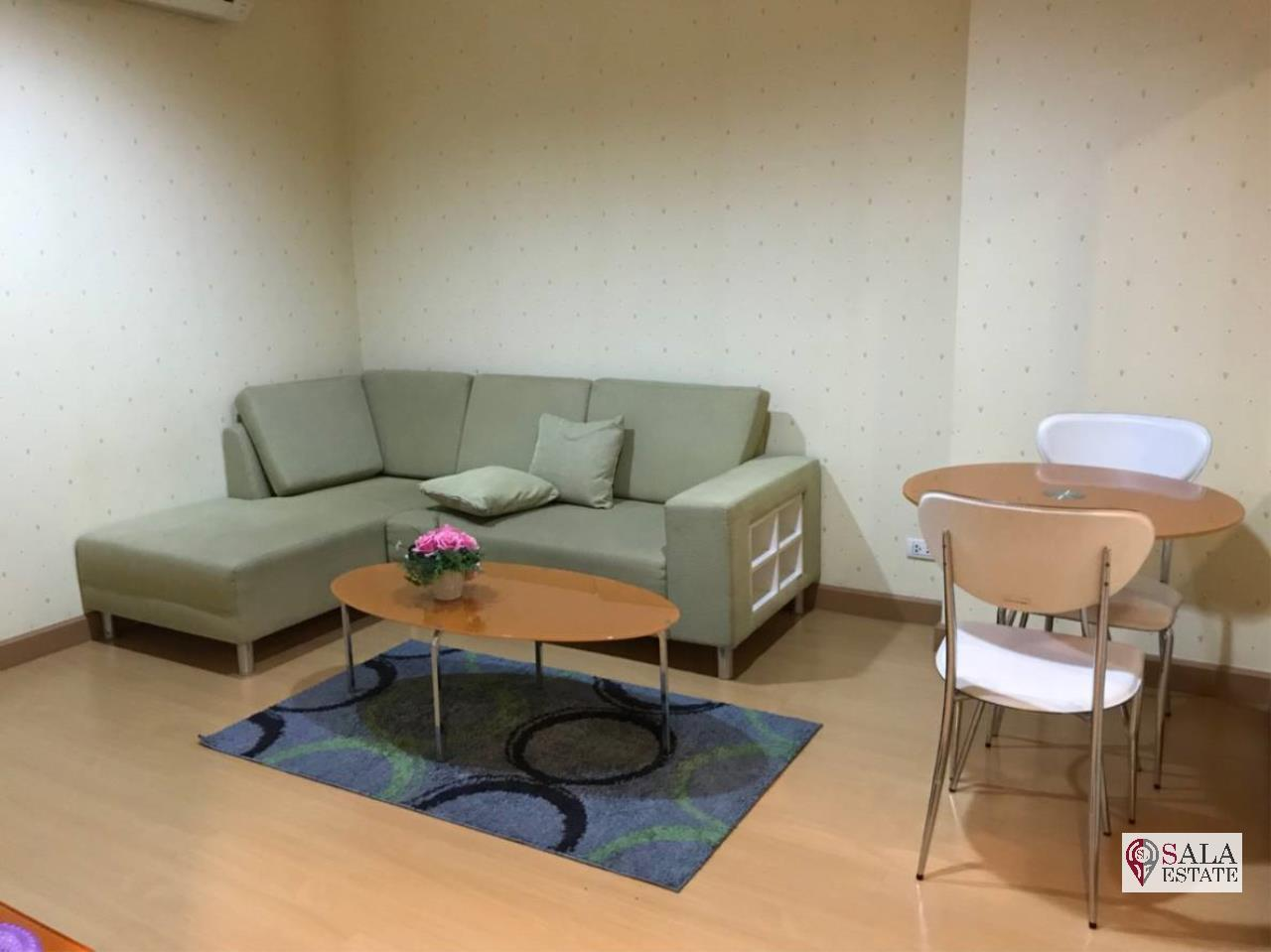 SALA ESTATE Agency's (FOR RENT) LIFE@RATCHADA HUAYKHWANG – MRT HUAI KHWANG,1BEDROOM 1 BATHROOM, FULLY FURNISHED 7