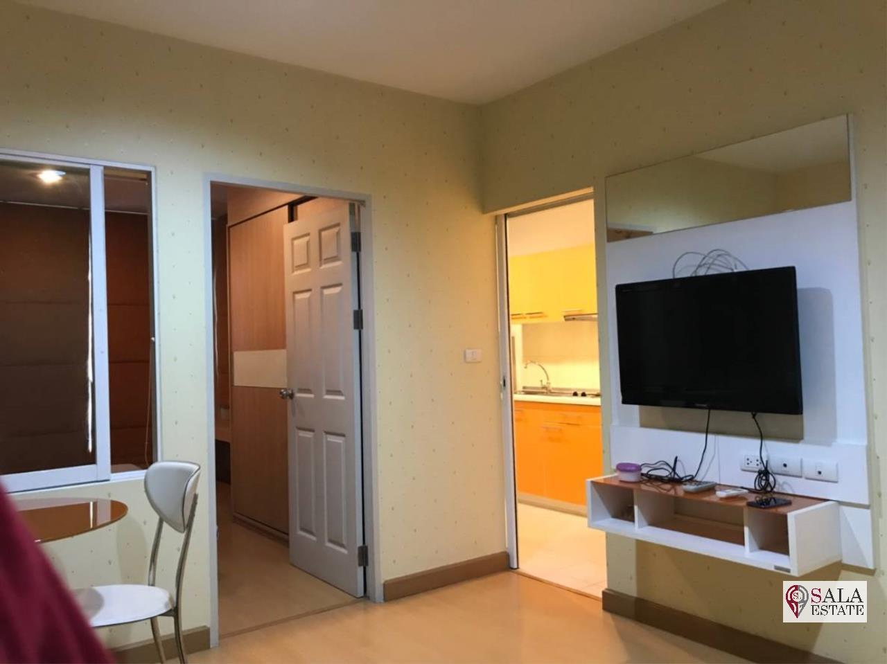 SALA ESTATE Agency's (FOR RENT) LIFE@RATCHADA HUAYKHWANG – MRT HUAI KHWANG,1BEDROOM 1 BATHROOM, FULLY FURNISHED 5