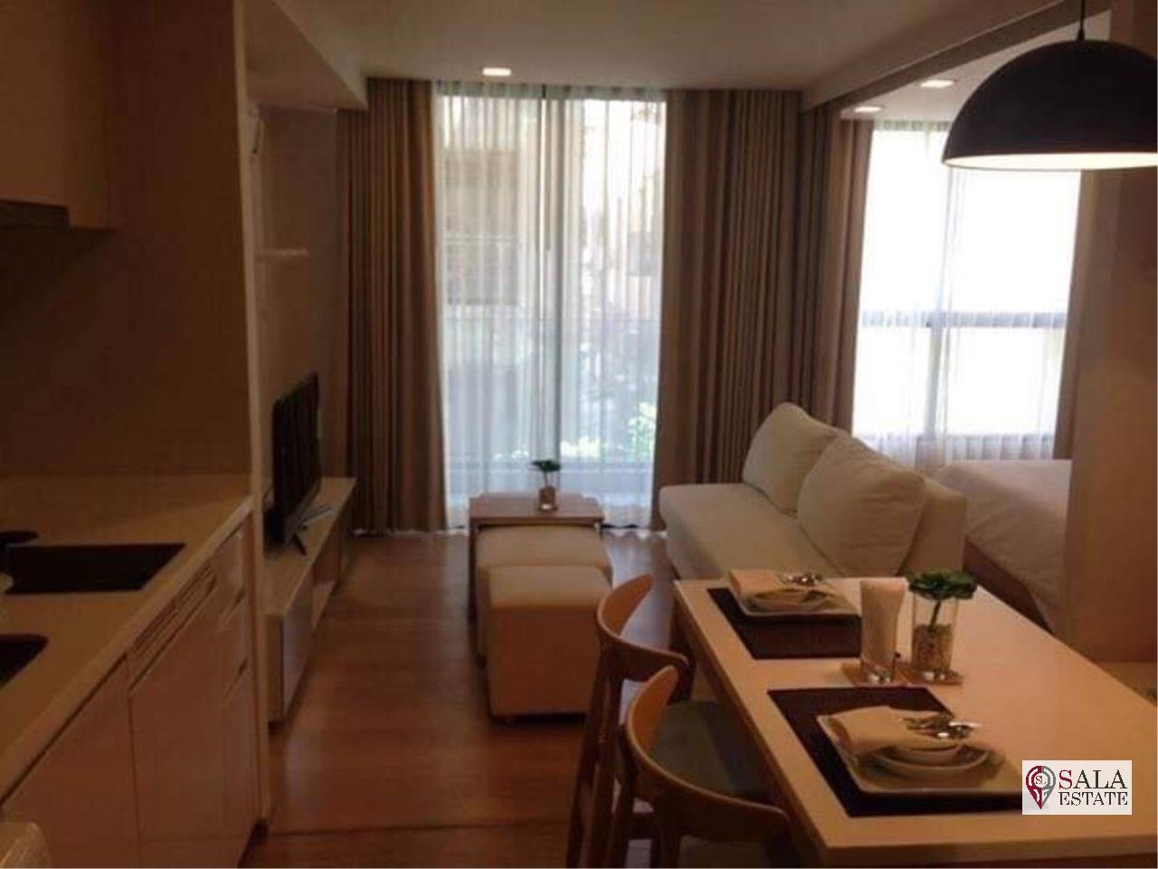 SALA ESTATE Agency's (FOR RENT) LIV@49 – BTS PHROM PHONG, 1 BEDROOM 1 BATHROOM, FULLY FURNISHED, CITY VIEW 2