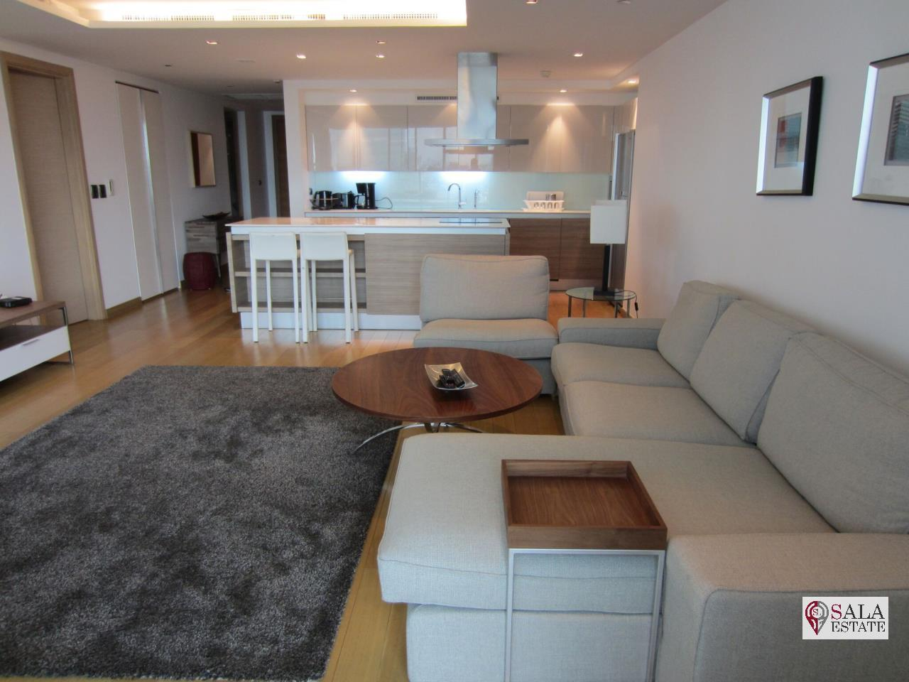 SALA ESTATE Agency's (FOR RENT) LE MONACO RESIDENCE– BTS ARI,2BEDROOMS 2BTHROOMS,HIGH FLOOR 9