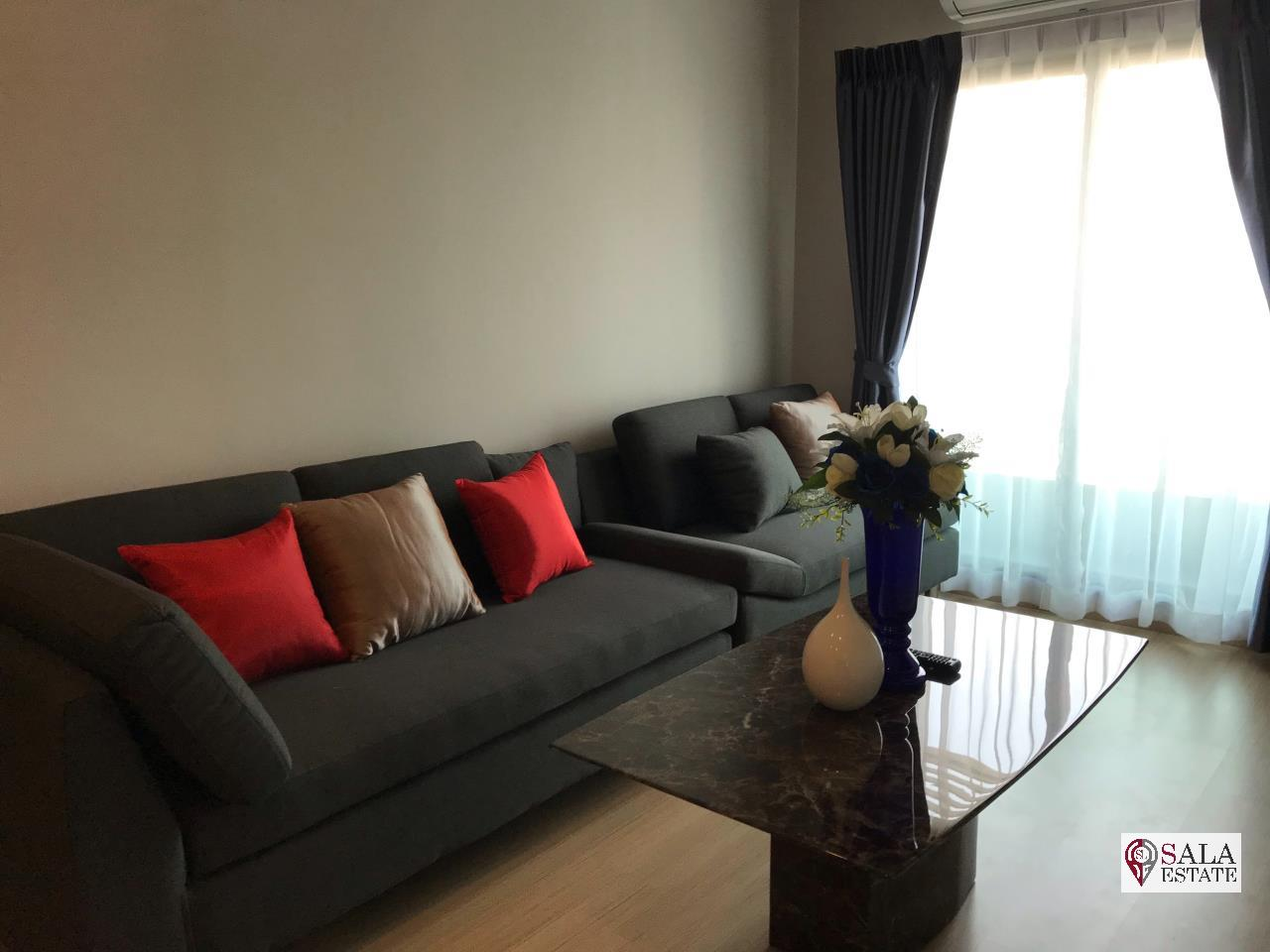 SALA ESTATE Agency's LUMPINI SUITE DINDAENG-RATCHAPRAROP – BTS VICTORY MONUMENT, 2 BEDROOM 1 BATHROOM, FULLY FURNISHED, CITY VIEW 1