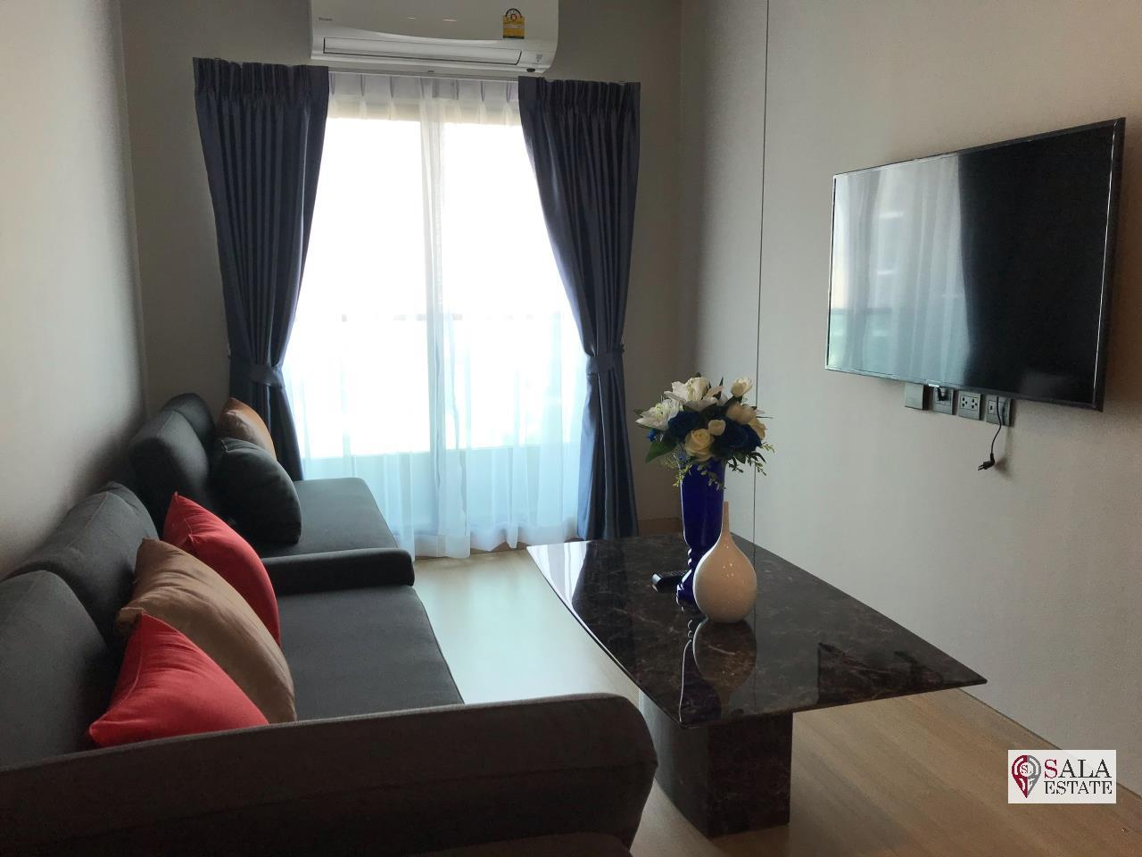 SALA ESTATE Agency's LUMPINI SUITE DINDAENG-RATCHAPRAROP – BTS VICTORY MONUMENT, 2 BEDROOM 1 BATHROOM, FULLY FURNISHED, CITY VIEW 2