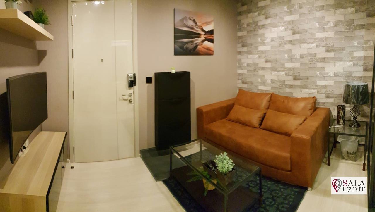 SALA ESTATE Agency's ( SELL WITH TENANT ) LIFE SUKHUMVIT 48 – BTS PHRA KHANONG, 1 BEDROOM  BATHROOM 1