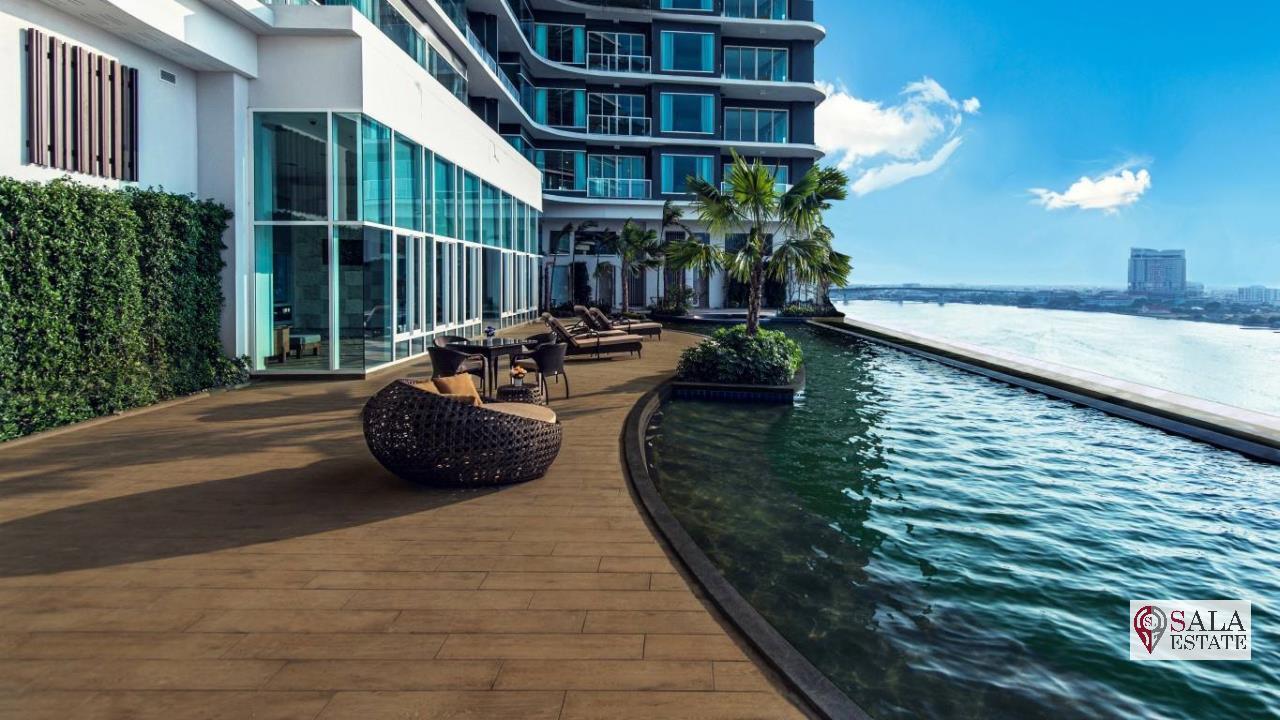 SALA ESTATE Agency's MENAM RESIDENCES-RIVERSIDE, 3 Bedroom 3 Bathroom, Fully furnished, River View 8