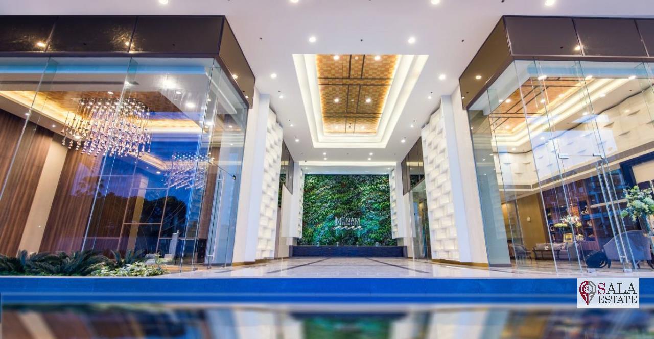 SALA ESTATE Agency's MENAM RESIDENCES-RIVERSIDE, 3 Bedroom 3 Bathroom, Fully furnished, River View 1