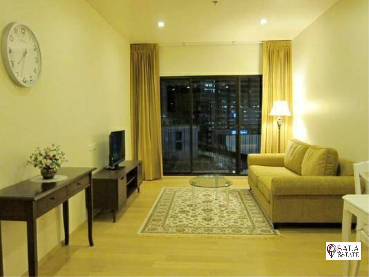 SALA ESTATE Agency's ( FOR SALE ) NOBLE REFORM - BTS ARI, 1 BEDROOM 1 BATHROOM, FULLY FURNISHED WITH CITY VIEW 3