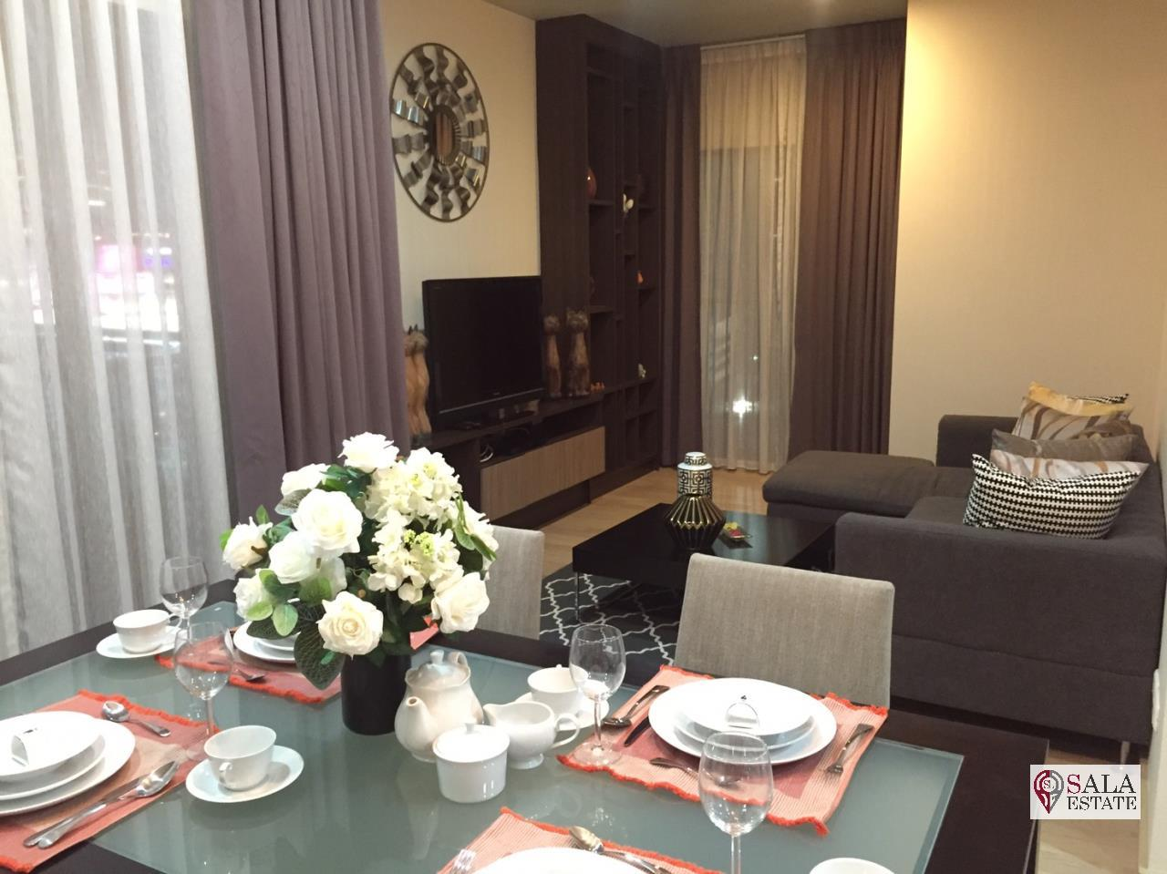 SALA ESTATE Agency's (FOR RENT/SALE) NOBLE REFINE – BTS PHROM PHONG, 2 BEDROOMS 2 BATHROOMS, FULLY FURNISHED 3