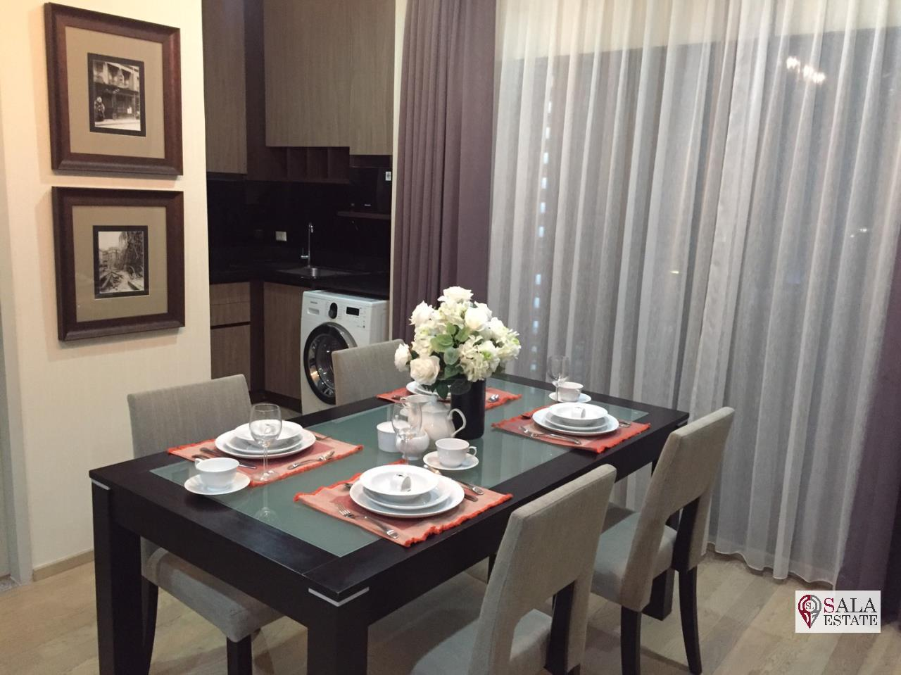 SALA ESTATE Agency's (FOR RENT/SALE) NOBLE REFINE – BTS PHROM PHONG, 2 BEDROOMS 2 BATHROOMS, FULLY FURNISHED 4