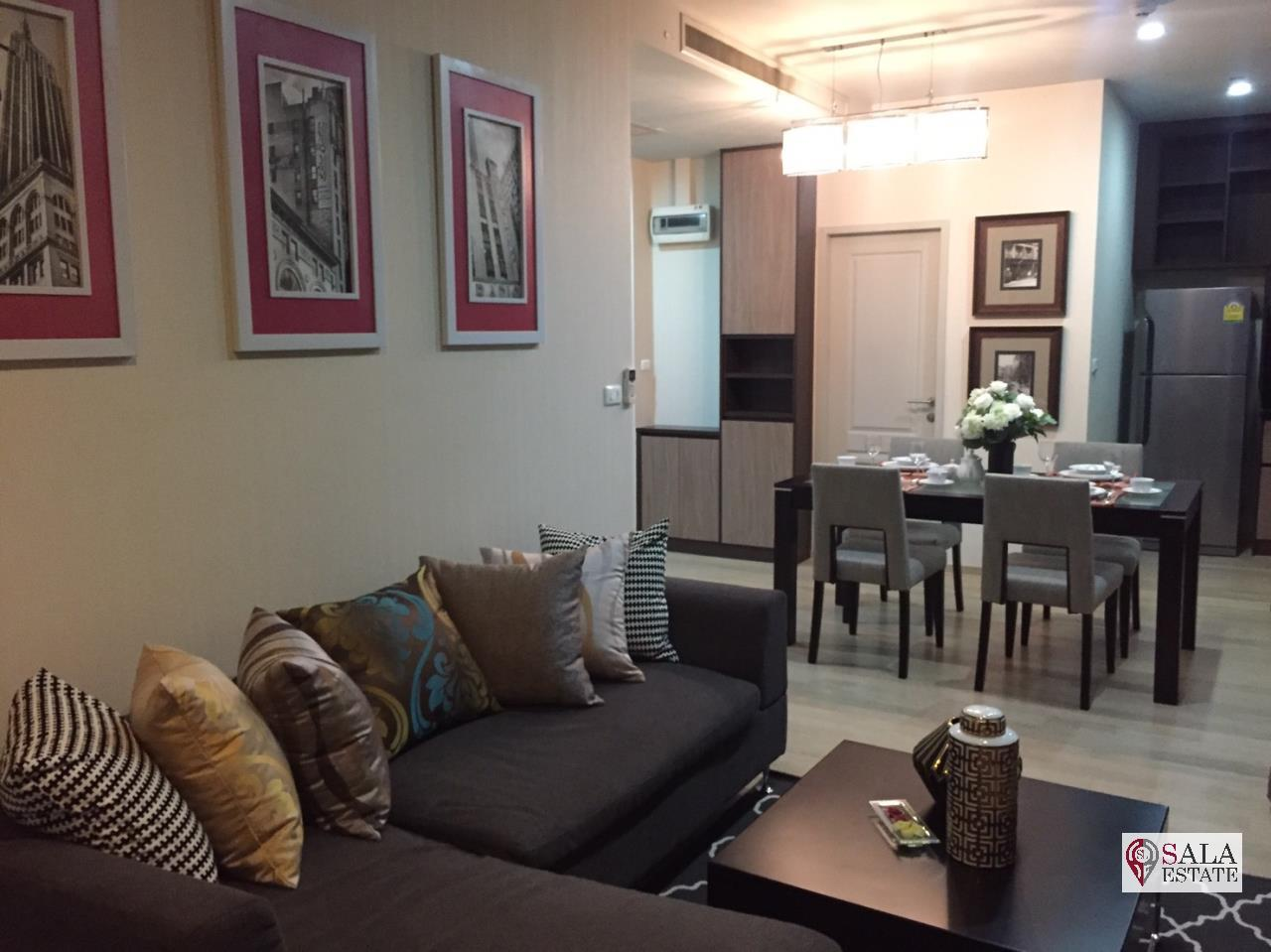 SALA ESTATE Agency's (FOR RENT/SALE) NOBLE REFINE – BTS PHROM PHONG, 2 BEDROOMS 2 BATHROOMS, FULLY FURNISHED 5