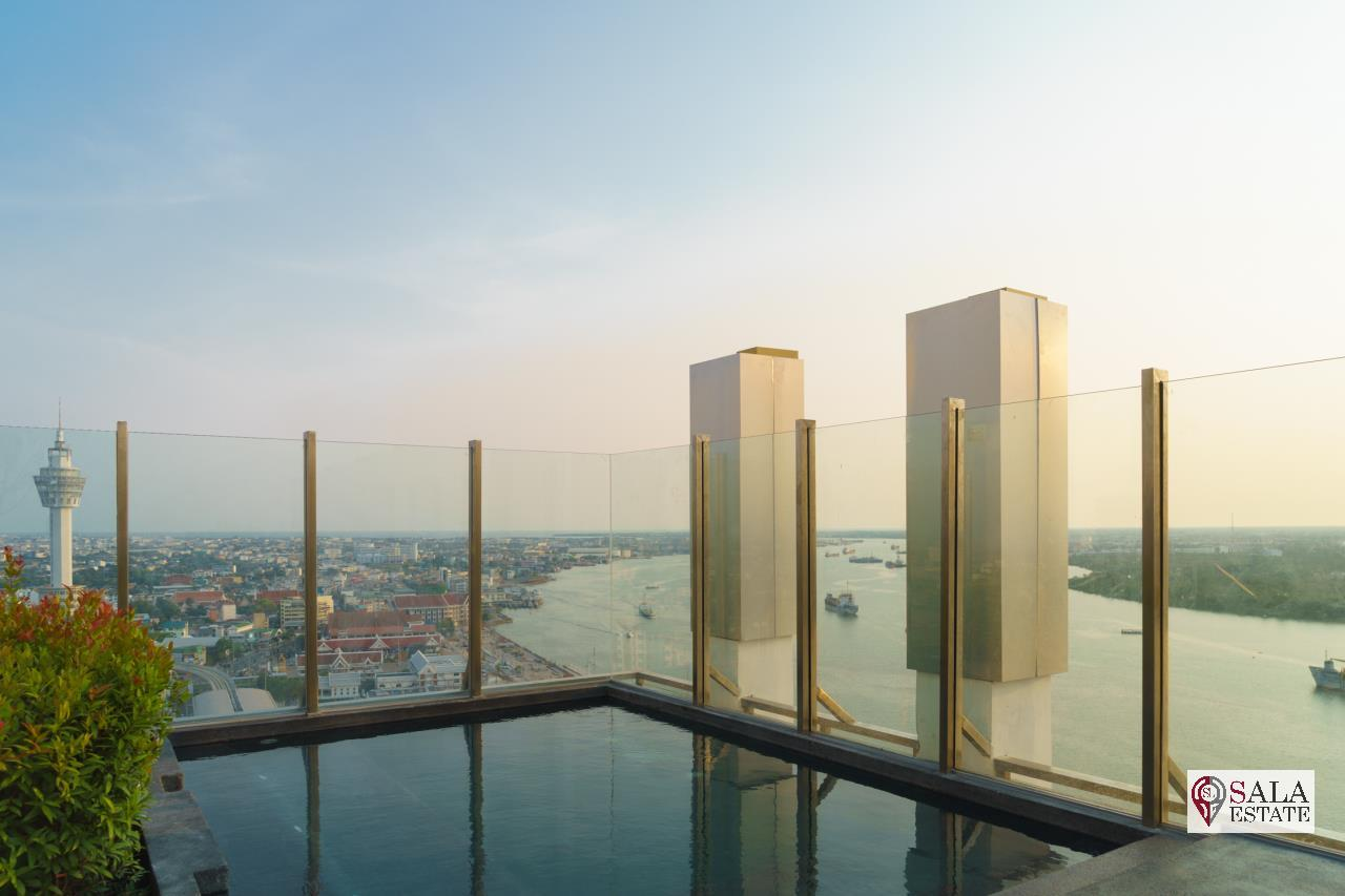 SALA ESTATE Agency's ( FOR SALE ) KNIGHTSBRIDGE SKY RIVER OCEAN – BTS PAK NAM, PENTHOUSES TYPE, RIVER VIEW 11