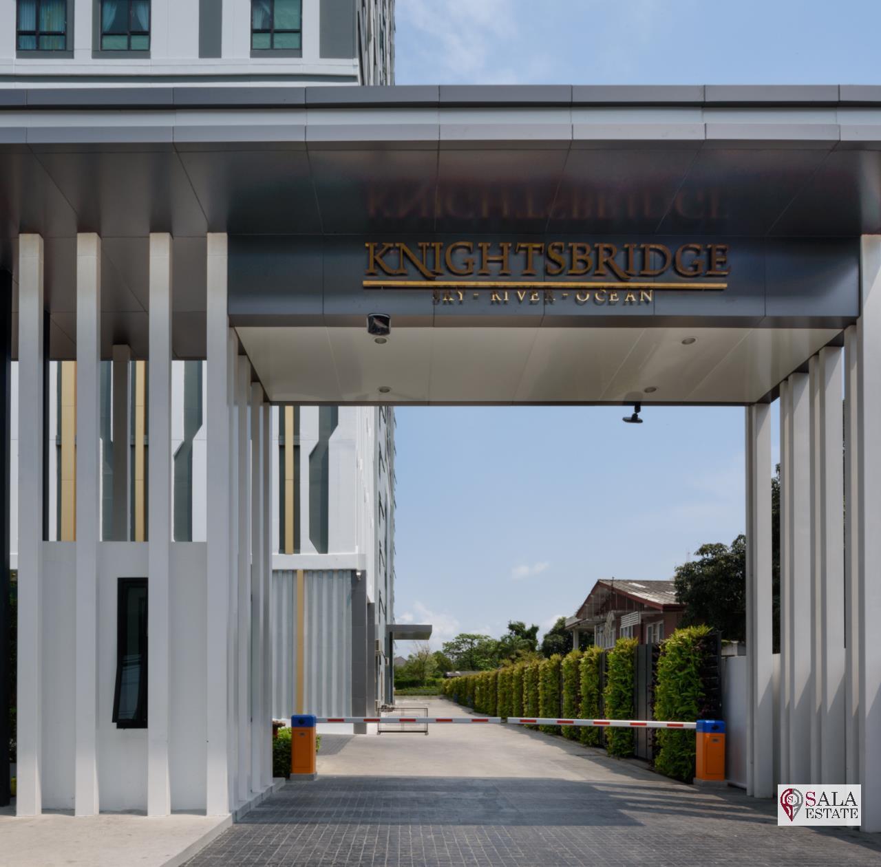 SALA ESTATE Agency's ( FOR SALE ) KNIGHTSBRIDGE SKY RIVER OCEAN – BTS PAK NAM, PENTHOUSES TYPE, RIVER VIEW 6