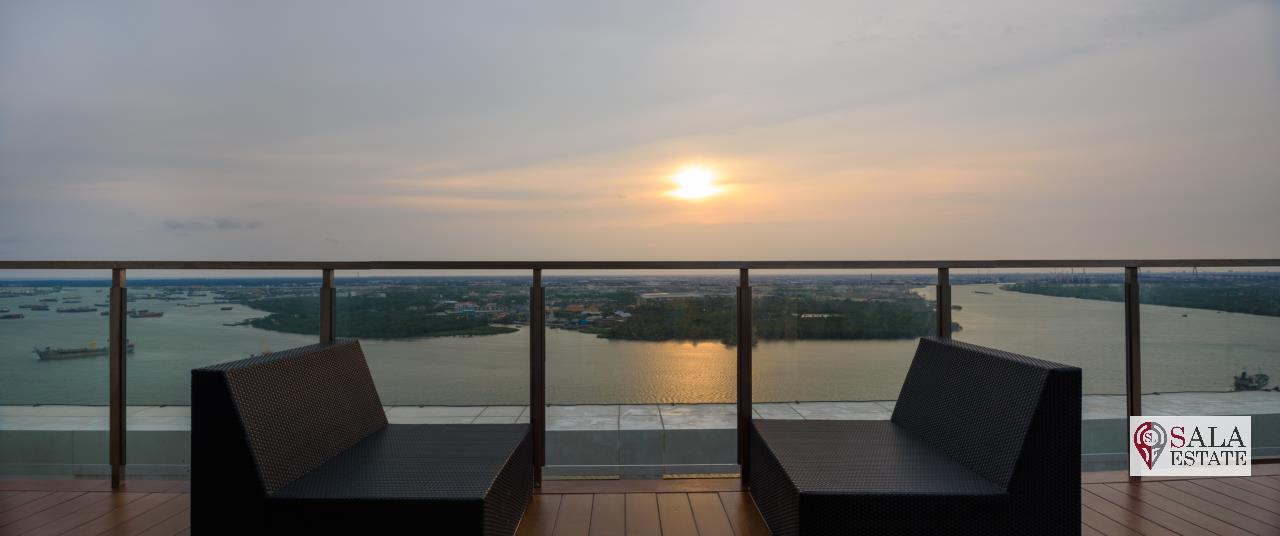 SALA ESTATE Agency's ( FOR SALE ) KNIGHTSBRIDGE SKY RIVER OCEAN – BTS PAK NAM, PENTHOUSES TYPE, RIVER VIEW 15