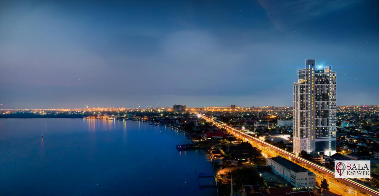 SALA ESTATE Agency's ( FOR SALE ) KNIGHTSBRIDGE SKY RIVER OCEAN – BTS PAK NAM, PENTHOUSES TYPE, RIVER VIEW 1