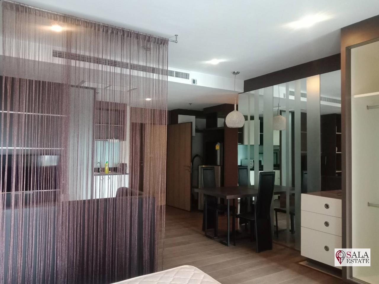 SALA ESTATE Agency's ( FOR RENT/SALE ) NOBLE REMIX - BTS THONG LOR, STUDIO, FULLY FURNISHED WITH BATHTUB 1