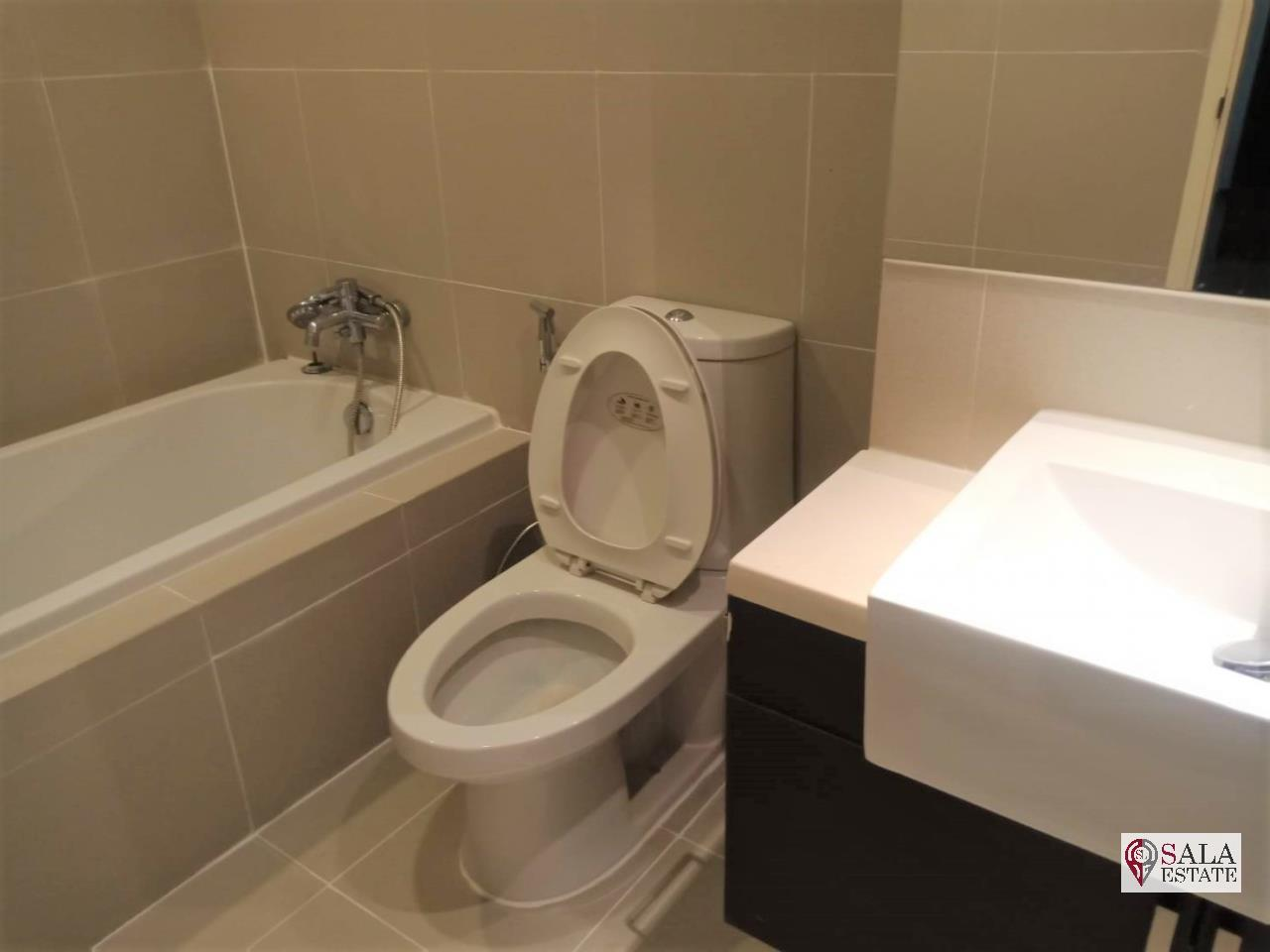 SALA ESTATE Agency's ( FOR RENT/SALE ) NOBLE REMIX - BTS THONG LOR, STUDIO, FULLY FURNISHED WITH BATHTUB 6