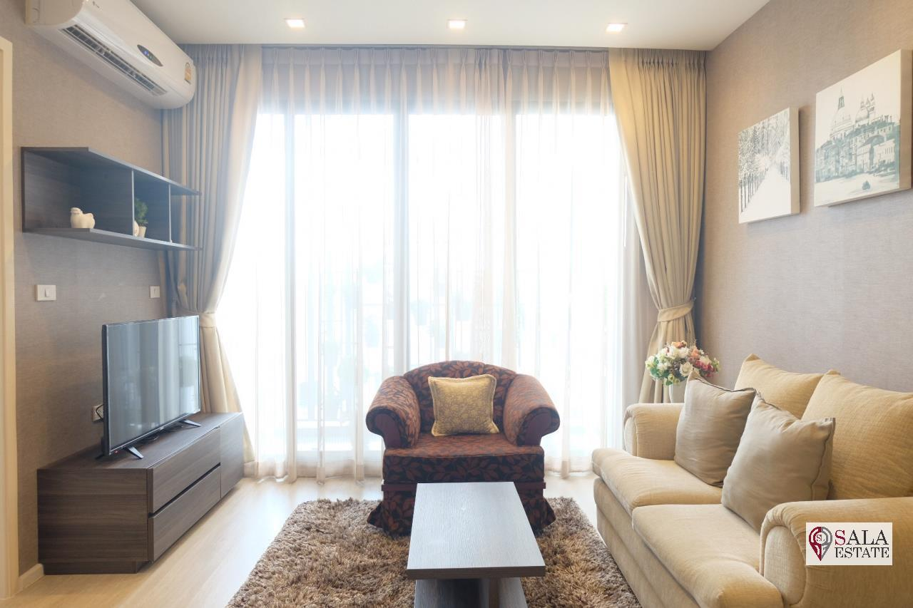 SALA ESTATE Agency's QUINN CONDO RATCHADA 17 - MRT SUTTHISAN, 1 BEDROOM 1 BATHROOM, FULLY FURNISHED, CITY VIEW 4