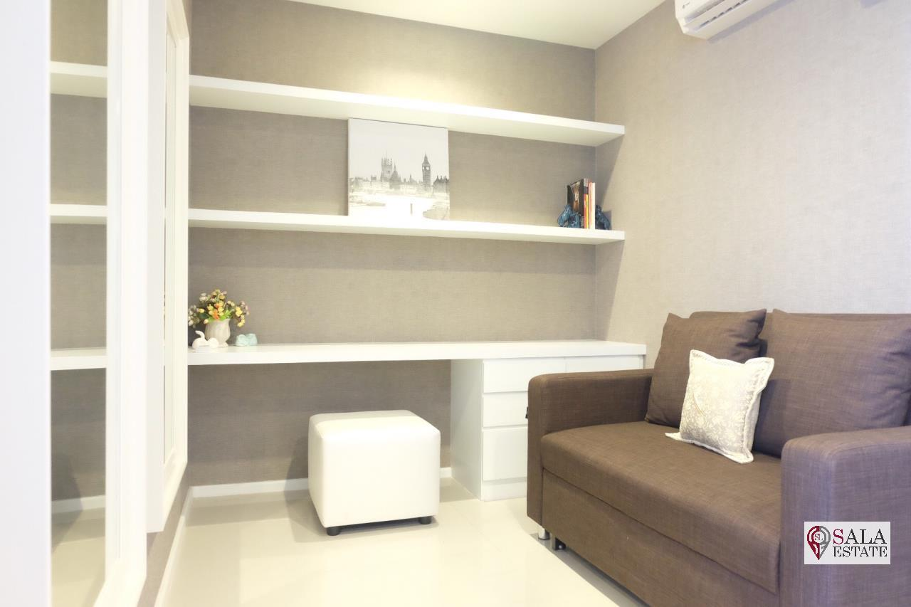 SALA ESTATE Agency's QUINN CONDO RATCHADA 17 - MRT SUTTHISAN, 1 BEDROOM 1 BATHROOM, FULLY FURNISHED, CITY VIEW 3