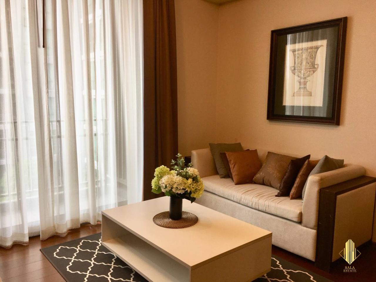 SALA ESTATE Agency's (FOR RENT) QUATTRO BY SANSIRI – BTS THONG LOR, 52 SQM 1BEDROOM 1BATHROOM FULLY FURNISHED 2