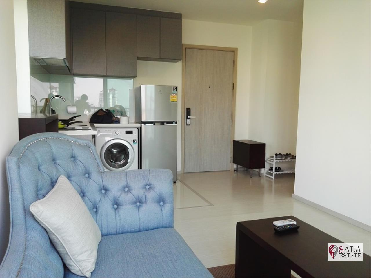 SALA ESTATE Agency's (FOR SALE WITH TENANT)RHYTHM SUKHUMVIT 36-38 – BTS THONG LOR, 48.59 SQM 1BEDROOM 1BATHROOM, FULLY FURNISHED 1