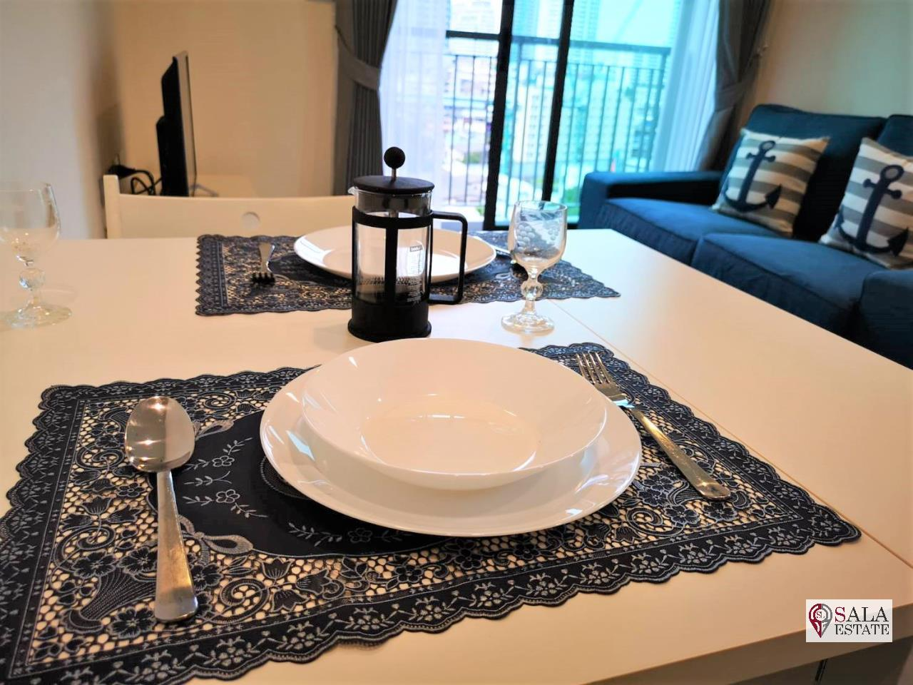 SALA ESTATE Agency's (FOR RENT)RHYTHM SUKHUMVIT 36-38 – BTS THONG LOR, 49 SQM 1BEDROOM 1BATHROOM, FULLY FURNISHED 5