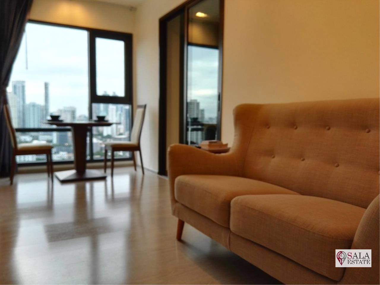 SALA ESTATE Agency's (FOR SALE)RHYTHM SUKHUMVIT 36-38 – BTS THONG LOR, 1BEDROOM 1BATHROOM, FULLY FURNISHED 1