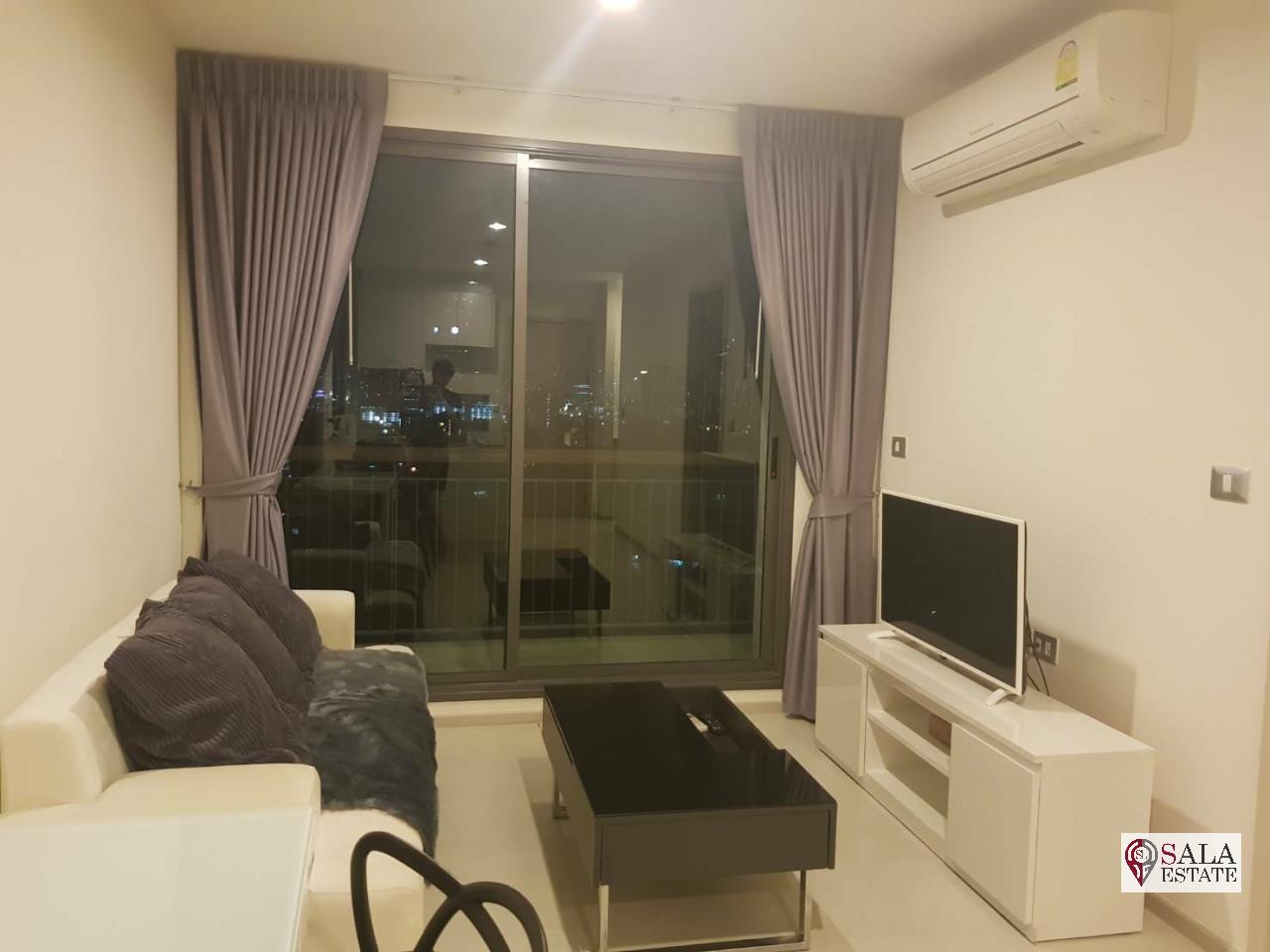 SALA ESTATE Agency's RHYTHM SUKHUMVIT 42 – BTS EKKAMAI,1BEDROOM 1BATHROOM, FULLY FURNISHED 1