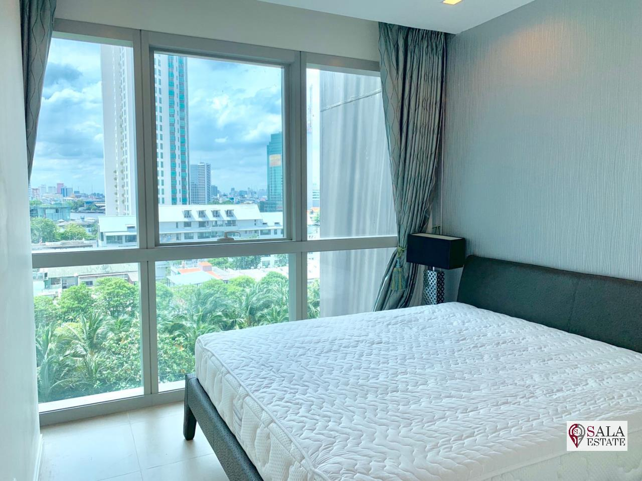 SALA ESTATE Agency's FOR SALE  THE RIVER – RIVERSIDE,ICONSIAM,豪华公寓,河景房, 2卧2卫, 家具齐全 2
