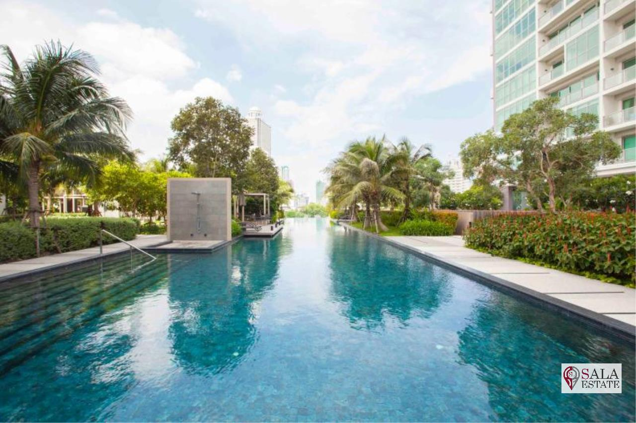 SALA ESTATE Agency's FOR SALE  THE RIVER – RIVERSIDE,ICONSIAM,豪华公寓,河景房, 2卧2卫, 家具齐全 10