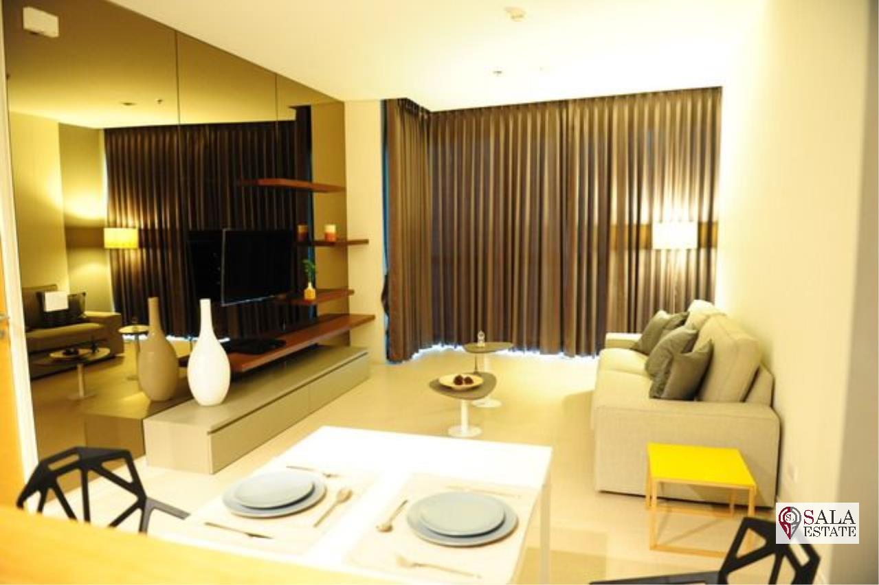 SALA ESTATE Agency's THE RIVER –RIVERSIDE- NEAR ICONSIAM, 1 BEDROOM 1 BATHROOM, FULLY FURNISHED, RIVER VIEW 2