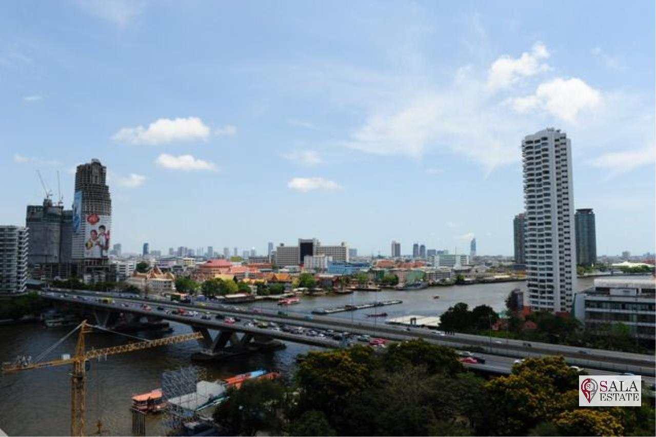 SALA ESTATE Agency's THE RIVER –RIVERSIDE- NEAR ICONSIAM, 1 BEDROOM 1 BATHROOM, FULLY FURNISHED, RIVER VIEW 6