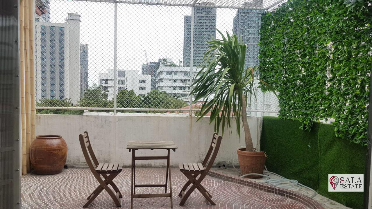 SALA ESTATE Agency's SALA HOSTEL – BTS THONGLO, city clear view, 1Bedroom1Bathroom 7