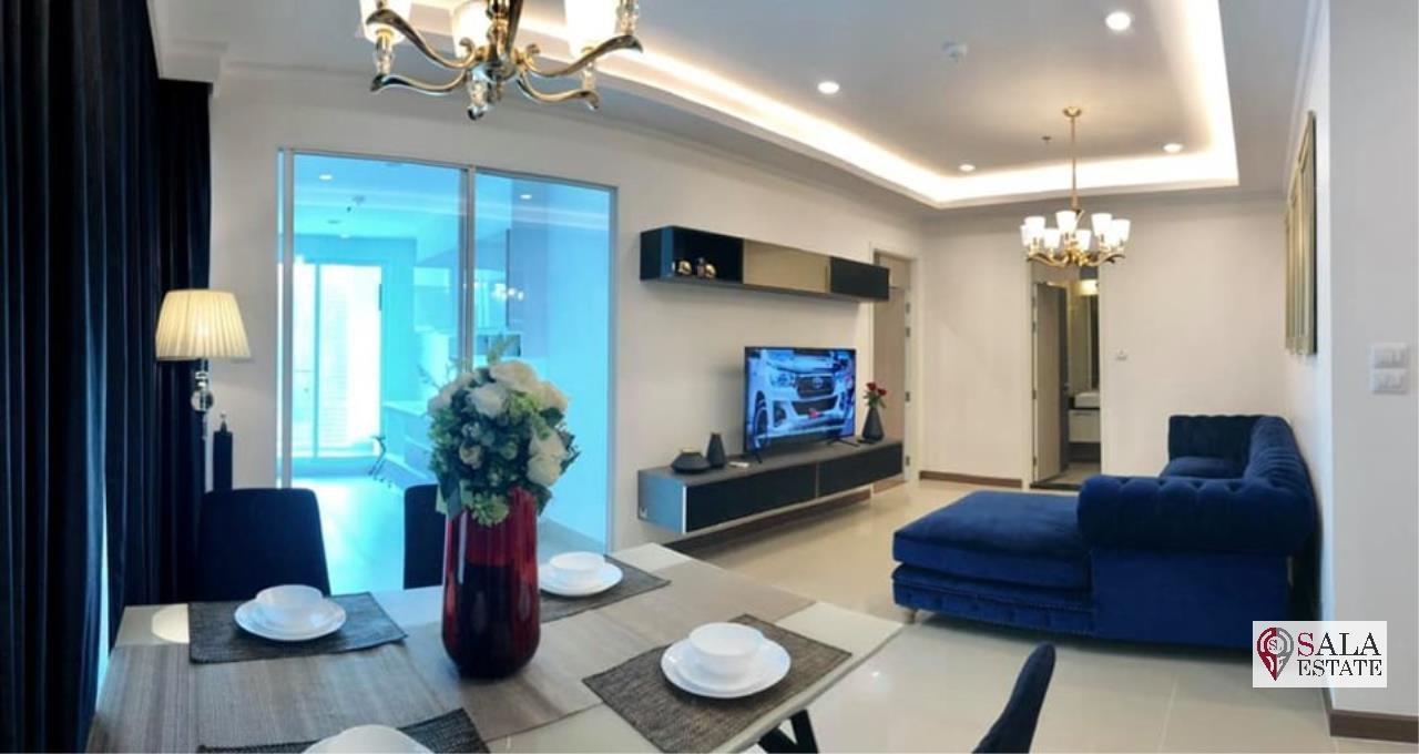 SALA ESTATE Agency's (FOR RENT) SUPALAI ELITE PHAYATHAI – BTS PHAYA THAI,70 SQM 1 BEDROOM 1 BATHROOM, FULLY FERNISHED, CITY VIEW 1