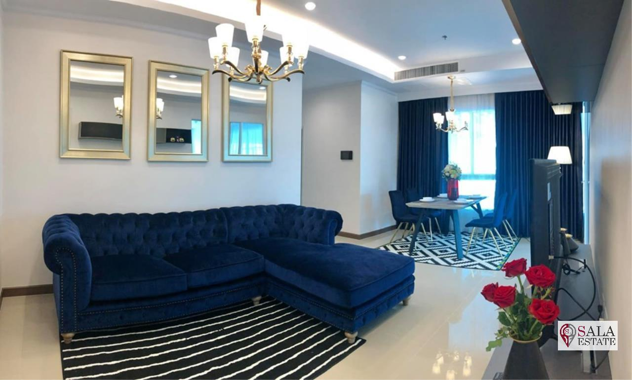 SALA ESTATE Agency's (FOR RENT) SUPALAI ELITE PHAYATHAI – BTS PHAYA THAI,70 SQM 1 BEDROOM 1 BATHROOM, FULLY FERNISHED, CITY VIEW 2