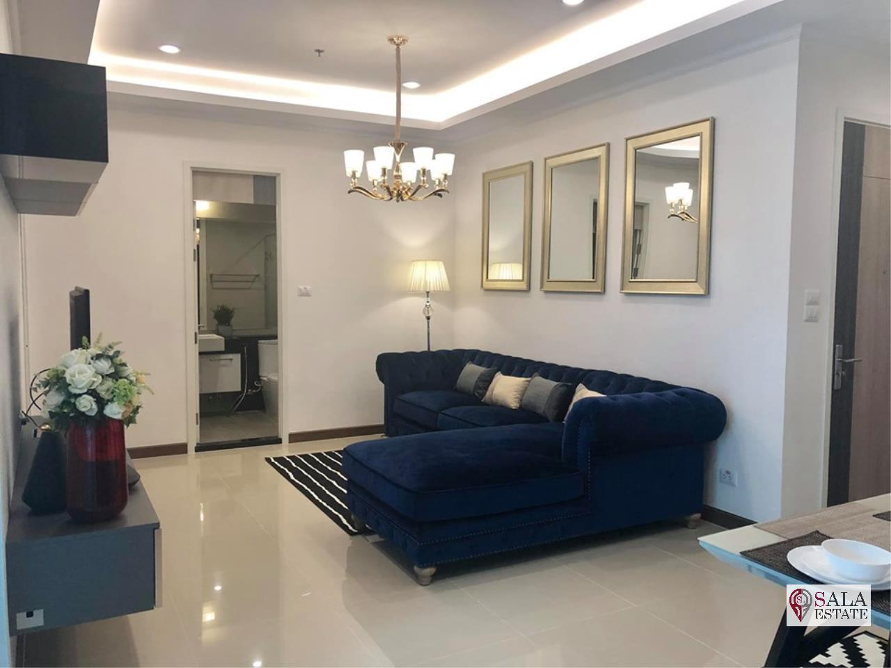 SALA ESTATE Agency's (FOR RENT) SUPALAI ELITE PHAYATHAI – BTS PHAYA THAI,70 SQM 1 BEDROOM 1 BATHROOM, FULLY FERNISHED, CITY VIEW 8