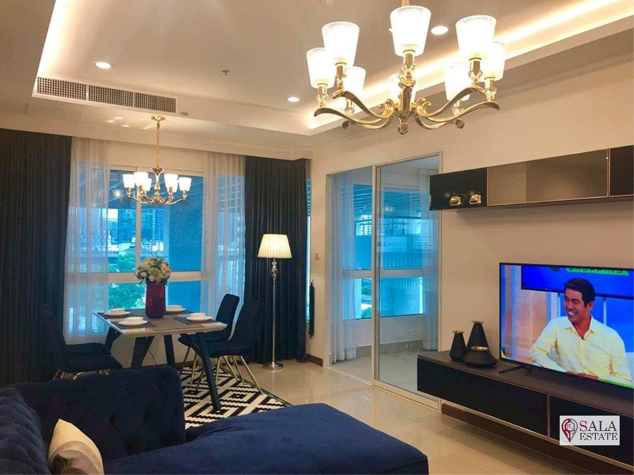 SALA ESTATE Agency's (FOR RENT) SUPALAI ELITE PHAYATHAI – BTS PHAYA THAI,70 SQM 1 BEDROOM 1 BATHROOM, FULLY FERNISHED, CITY VIEW 6