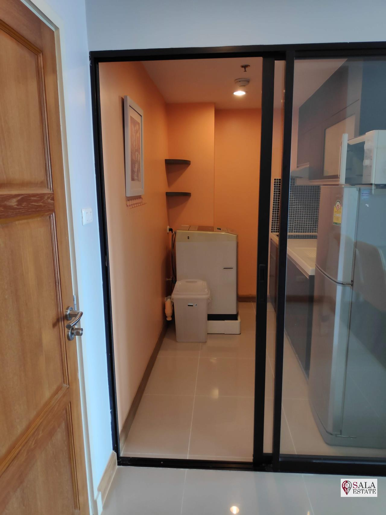 SALA ESTATE Agency's SUPALAI PREMIER NARATHIWAS – BTS CHONG NONSI, 1 BEDROOM 1 BATHROOM, FULLY FERNISHED, CITY VIEW 10