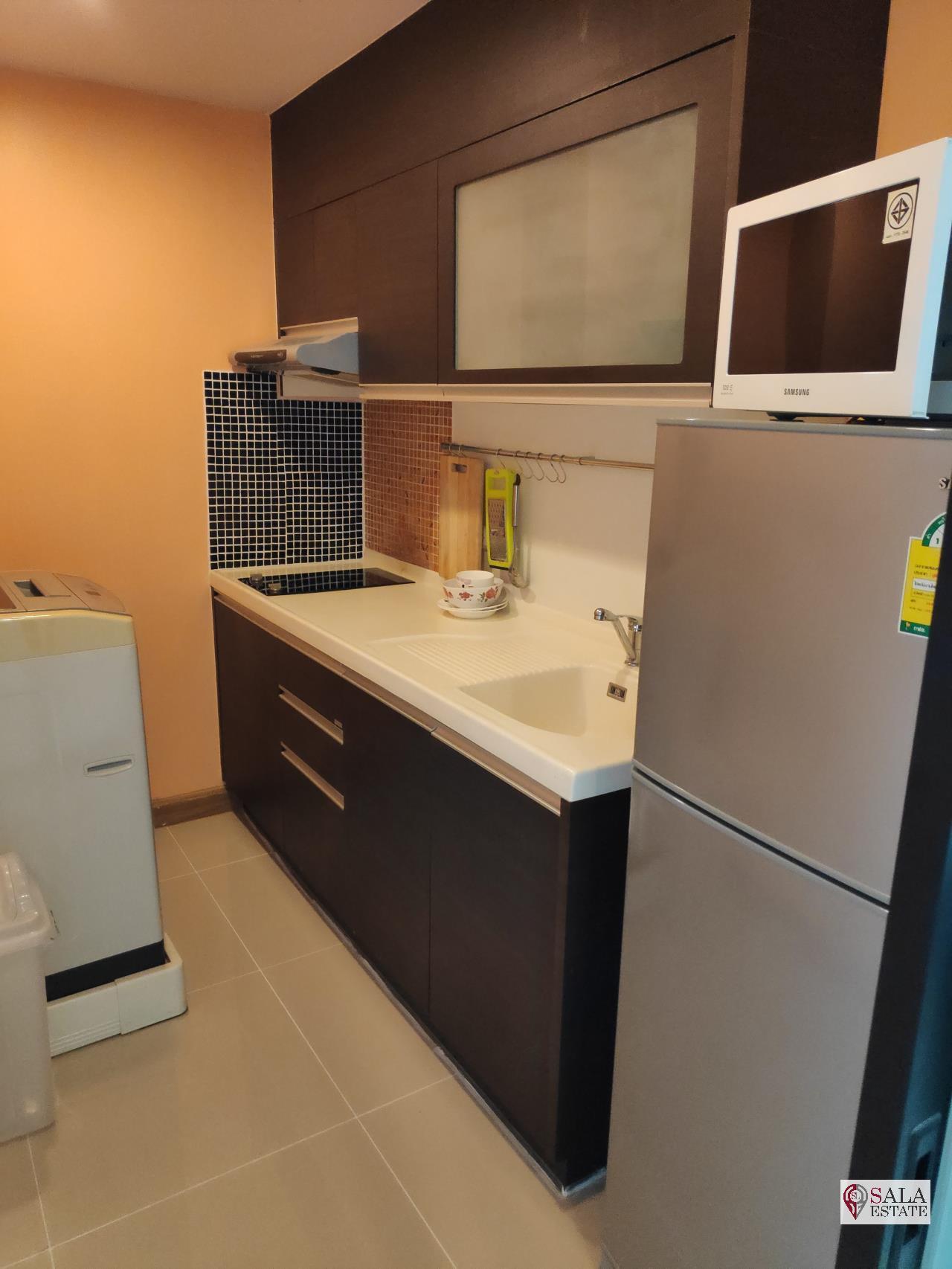 SALA ESTATE Agency's SUPALAI PREMIER NARATHIWAS – BTS CHONG NONSI, 1 BEDROOM 1 BATHROOM, FULLY FERNISHED, CITY VIEW 19
