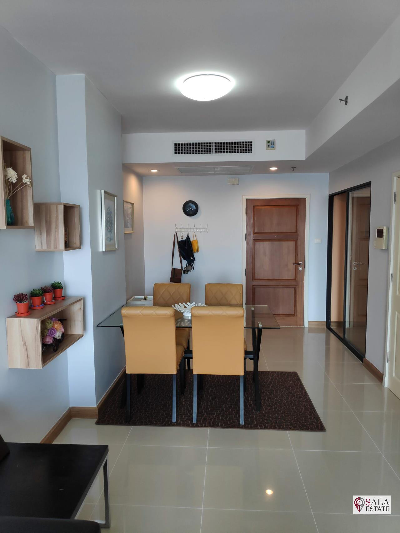 SALA ESTATE Agency's SUPALAI PREMIER NARATHIWAS – BTS CHONG NONSI, 1 BEDROOM 1 BATHROOM, FULLY FERNISHED, CITY VIEW 8