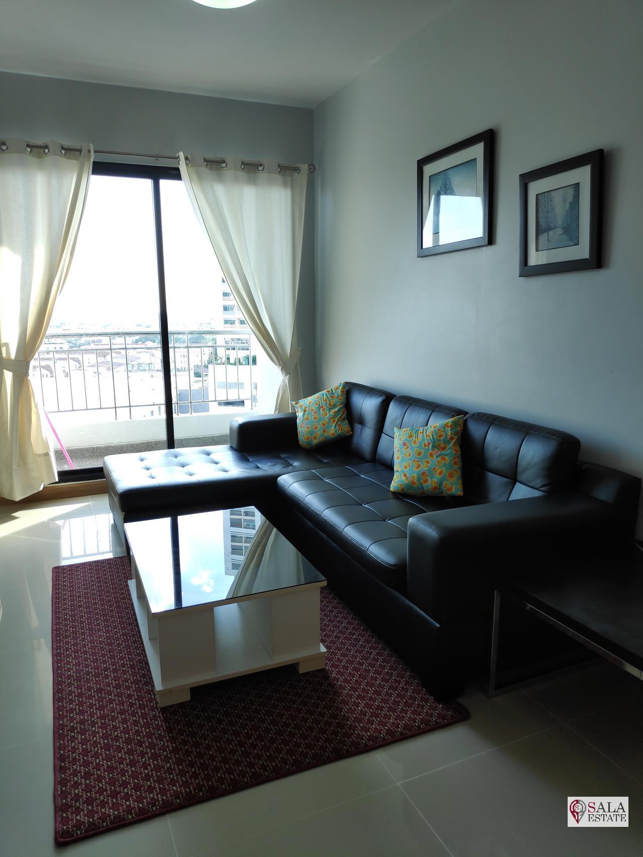 SALA ESTATE Agency's SUPALAI PREMIER NARATHIWAS – BTS CHONG NONSI, 1 BEDROOM 1 BATHROOM, FULLY FERNISHED, CITY VIEW 3