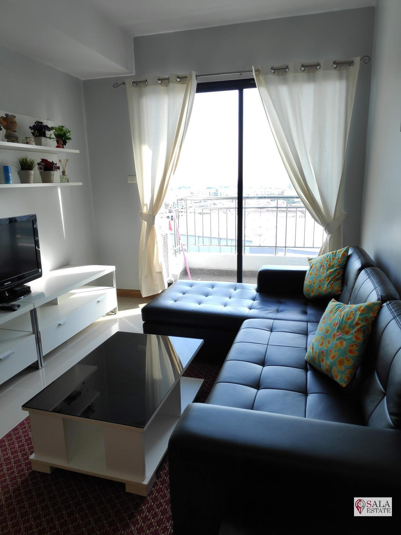 SALA ESTATE Agency's SUPALAI PREMIER NARATHIWAS – BTS CHONG NONSI, 1 BEDROOM 1 BATHROOM, FULLY FERNISHED, CITY VIEW 2