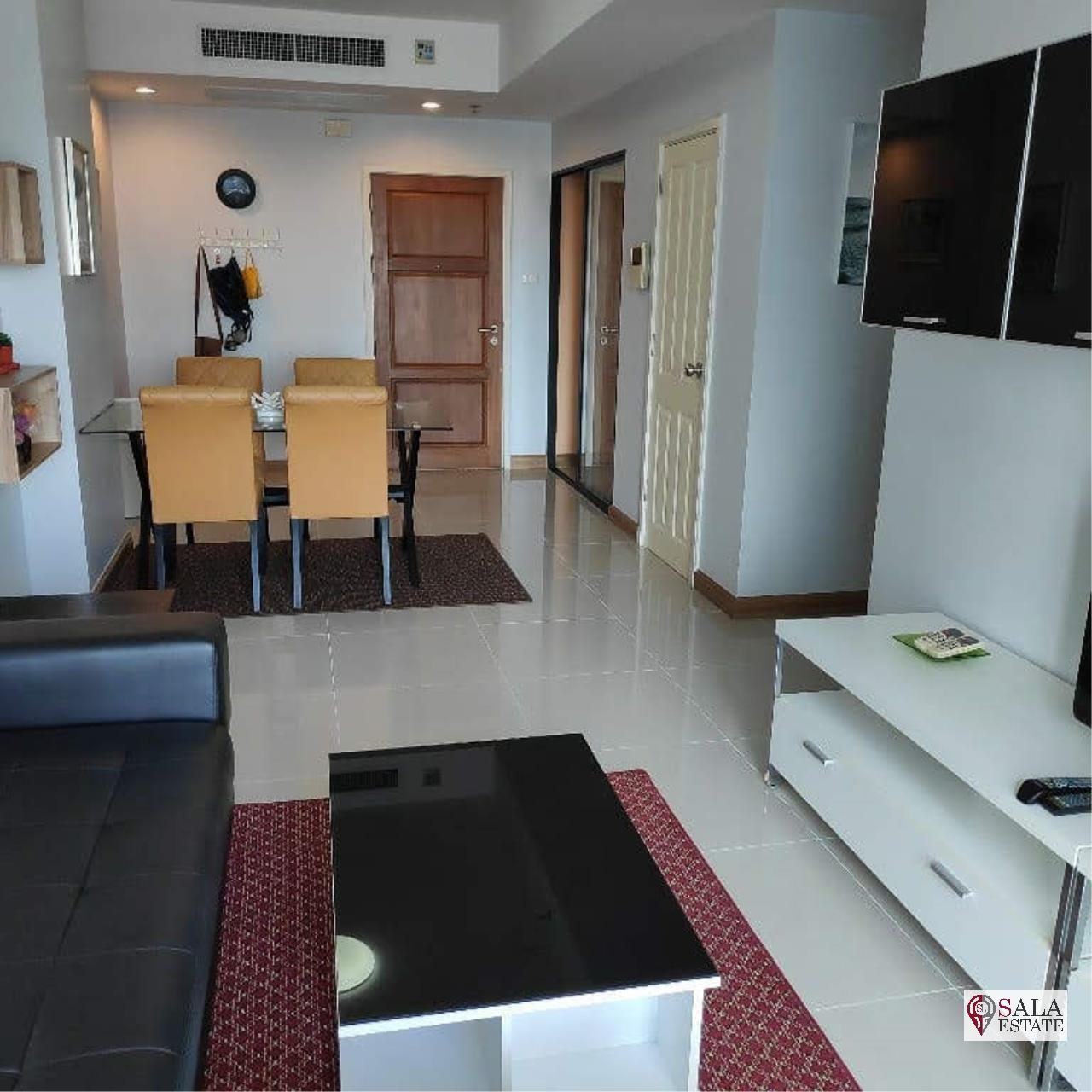 SALA ESTATE Agency's SUPALAI PREMIER NARATHIWAS – BTS CHONG NONSI, 1 BEDROOM 1 BATHROOM, FULLY FERNISHED, CITY VIEW 4