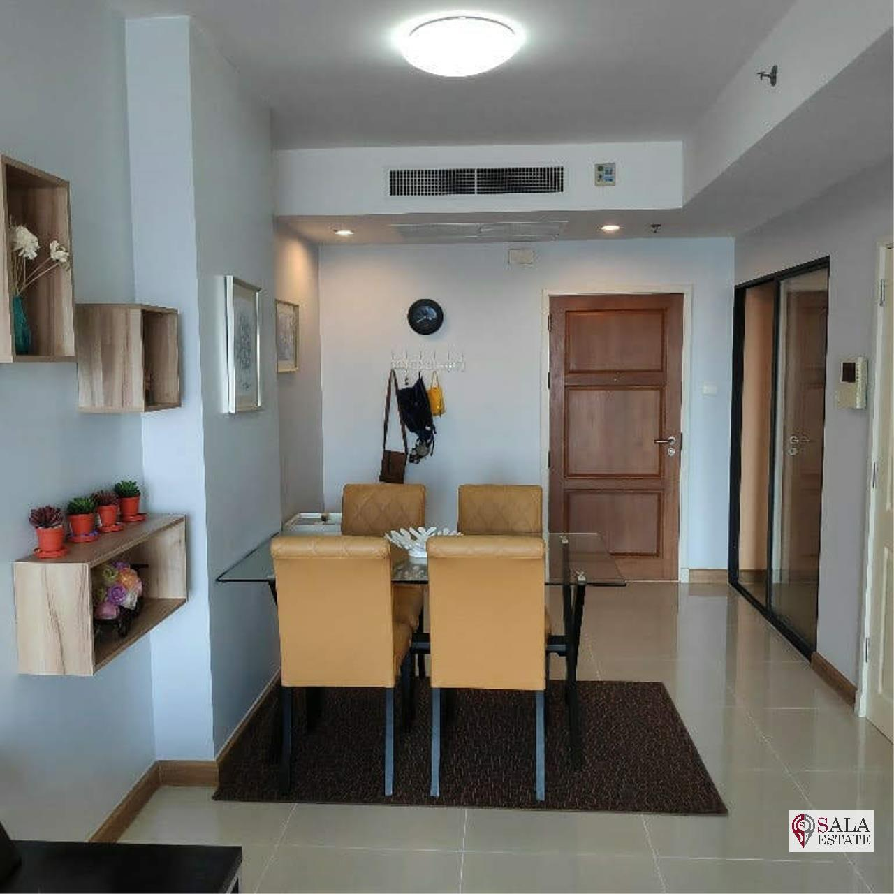 SALA ESTATE Agency's SUPALAI PREMIER NARATHIWAS – BTS CHONG NONSI, 1 BEDROOM 1 BATHROOM, FULLY FERNISHED, CITY VIEW 9